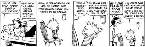 Tirinha Calvin