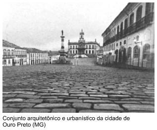 Conjunto arquitetônico e urbanístico da cidade de Ouro Preto (MG)