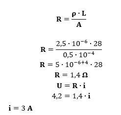 Cálculo da intensidade da corrente que percorre o fio