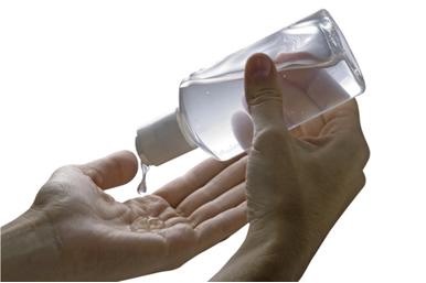 O álcool gel possui baixo teor alcoólico, o que evita acidentes