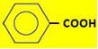 Fórmula do ácido benzoico