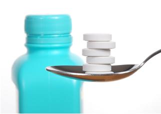 O antiácido estomacal possui uma base que neutraliza o ácido do suco gástrico