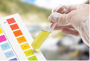 Valores de pH para solução química