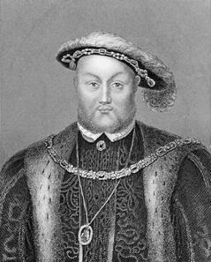 Henrique VIII sujeitou o Parlamento e deu as características absolutistas à Inglaterra