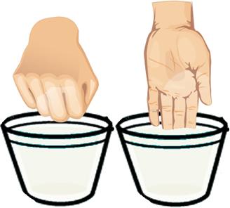 Experimento com mistura de amido de milho e água