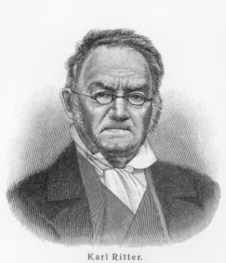 Karl Ritter, considerado o criador da Geografia Humana e dos estudos sobre o espaço geográfico social