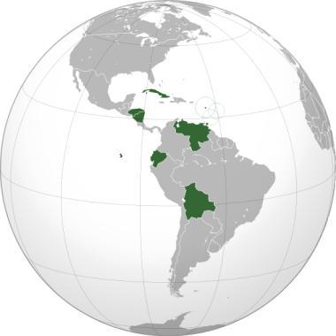 Mapa da América¹
