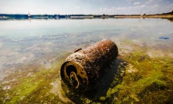 Poluição da Água causada por resíduos