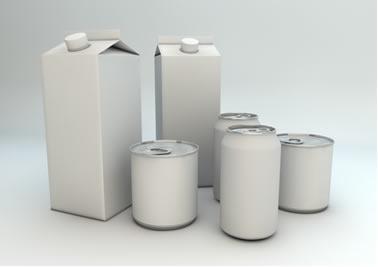 As embalagens inteligentes conterão uma resina que muda de cor