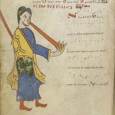 Antifonário do século X da Aquitânia