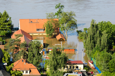Exemplo de cidade invadida pelo leito maior de um rio