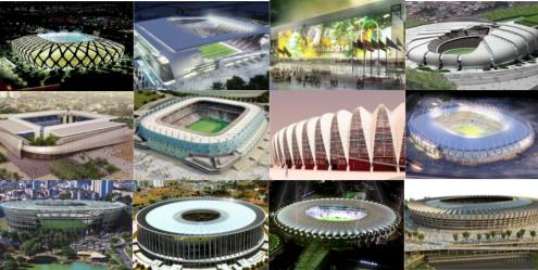 Estádios da Copa de 2014