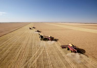 Espaço agrícola mecanizado