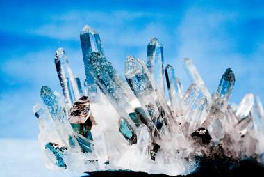 Imagem de quartzo, o maior responsável pelo desenvolvimento de silicose em trabalhadores