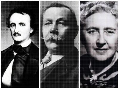 Edgar Allan Poe inaugurou o gênero policial, cujo legado foi perpetuado por escritores como Arthur Conan Doyle e Agatha Christie *