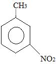 Fórmula estrutural do nitrotolueno