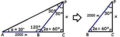 Sabendo que a soma dos ângulos internos de qualquer triângulo é 180°, podemos encontrar os valores dos ângulos que faltam.