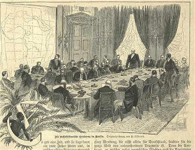 Figura 01: Conferência de Berlim