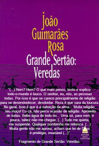"""Considerada uma das mais significativas obras da Literatura brasileira, """"Grande Sertão: Veredas"""" apresenta linguagem inovadora e grande originalidade"""