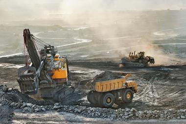 A mineração é um exemplo do processo de utilização da natureza pelos seres humanos