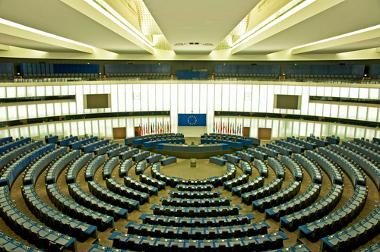 Sede do Parlamento Europeu, na cidade de Estrasburgo, França *