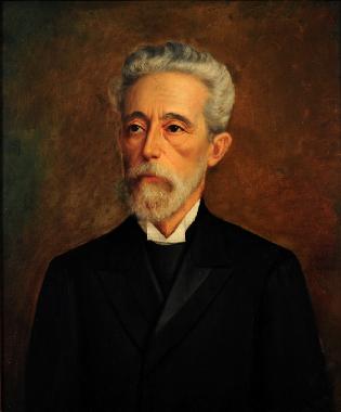 O jornalista Quintino Bocaiuva foi um dos principais articuladores do golpe de 1889 **