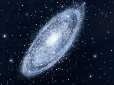 A nossa galáxia, a Via Láctea, surgiu no início de março do calendário cósmico