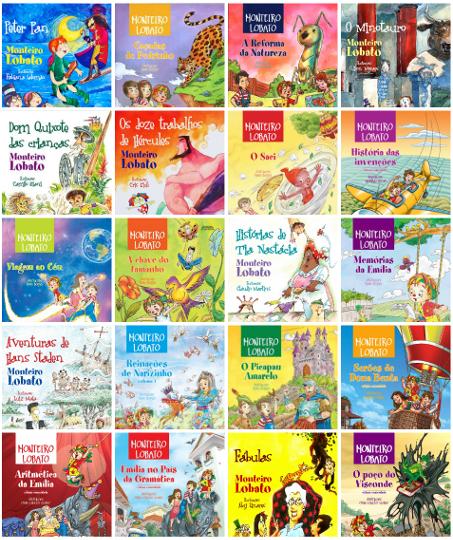 Ao longo de sua carreira, Lobato escreveu 26 livros para o público infantojuvenil, imortalizando as personagens do famoso Sítio do Picapau Amarelo