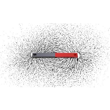 Representação das linhas de indução através de limalhas de ferro