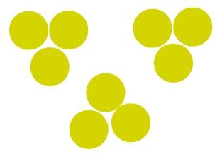 Grupo de moléculas iguais, segundo o modelo de Dalton, que formam uma substância