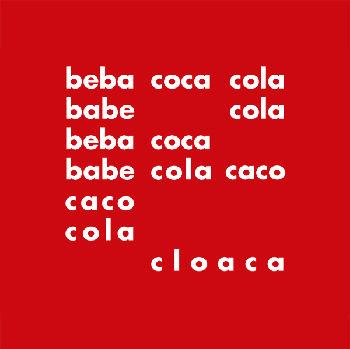 Décio Pignatari: beba coca-cola, 1957