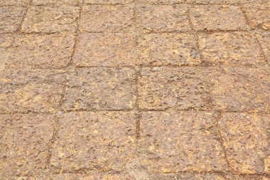 Blocos de rocha formados por laterito