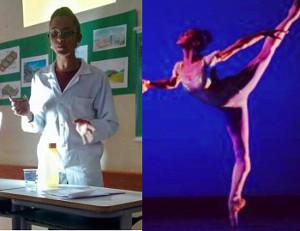 Débora conciliou os estudos com os treinos de dança