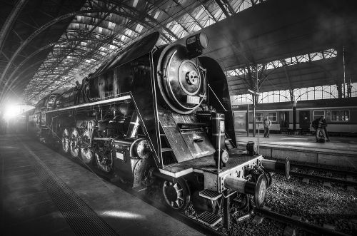A locomotiva a vapor tornou-se um dos mais importantes meios de transporte do século XIX