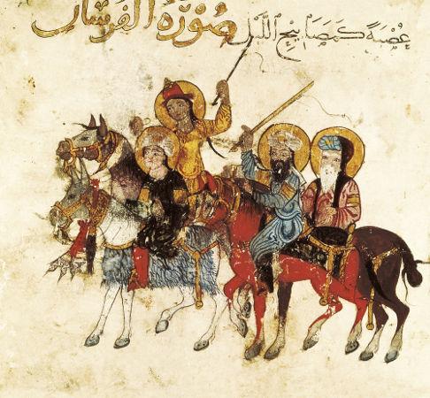 A expansão islâmica ocorreu na Idade Média, provocando inúmeros conflitos armados