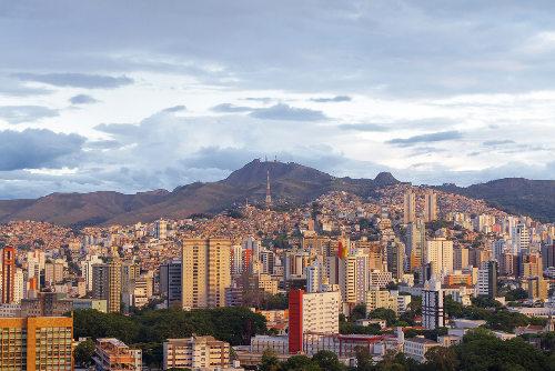A rede de influência de Belo Horizonte ultrapassa o limite do estado de Minas Gerais