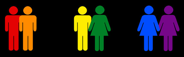 De acordo com sua orientação sexual, uma pessoa pode ser heterossexual, homossexual ou bissexual.