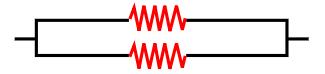 Resistores ligados em paralelo