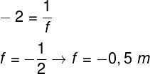 Cálculo do foco