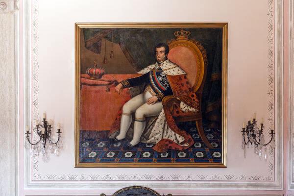 Em 1808, D. João VI e a família real portuguesa mudaram-se para o Rio de Janeiro.**