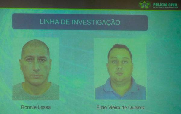 Ronnie Lessa e Élcio Vieira de Queiroz
