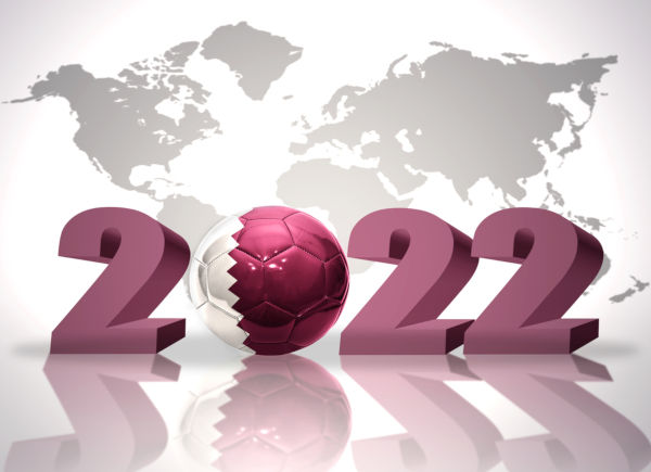 O Catar será sede da Copa do Mundo de 2022.