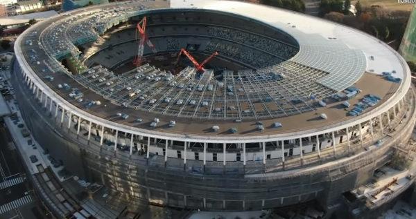 Estádio Olímpico é a principal construção dos Jogos de 2020. (Crédito: Reprodução)