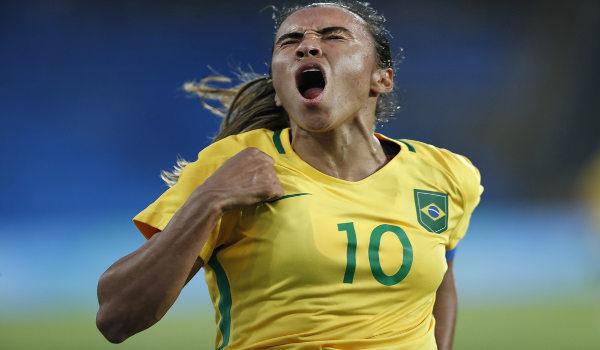 Marta, a melhor jogadora do mundo. (Crédito: Shutterstock | Antonio Scorza)
