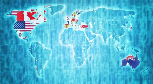 A OCDE é formada atualmente por 36 países-membros e alguns países parceiros.