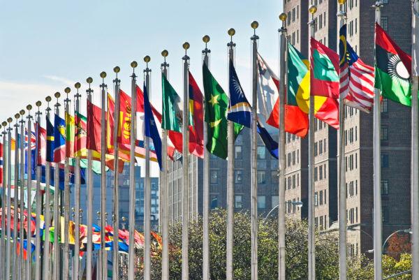 A ONU é composta, atualmente, por 193 Estados-membros.