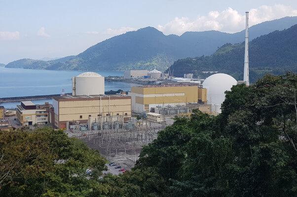 Usina nuclear do Rio de Janeiro, Brasil