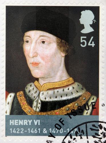 Henrique VI foi considerado um rei fraco e louco, e os conflitos com Ricardo de York deram início à Guerra das Rosas.*