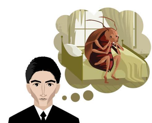 """""""A metamorfose"""", de Kafka, relata uma das histórias mais conhecidas da literatura mundial."""