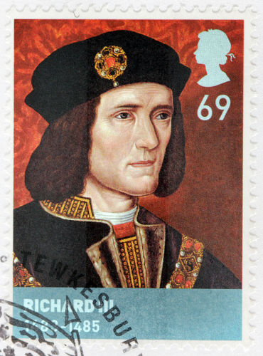 Ricardo III assumiu o trono inglês, em 1483, depois de aprisionar seus sobrinhos.*